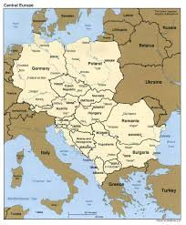 Cold War Map Of Europe by Central Europe Open Access In Central And Eastern Europe