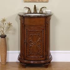 Bathroom Vanity Granite Top by Shop Silkroad Exclusive Alexandra English Chestnut Undermount
