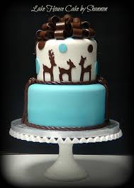 baby boy shower cake baby shower its a boy brown baby blue cake