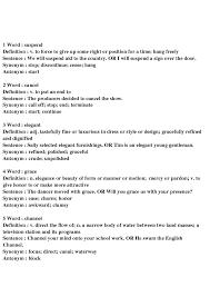 work resume synonyms 97 free synonyms antonyms worksheets