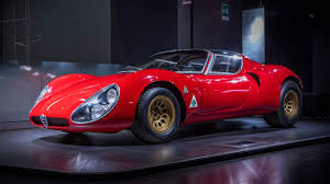 alfa romeo classic alfa romeo 33 stradale turns 50 is still the most beautiful car