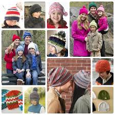 church free knit and crochet family hat patterns wee folk