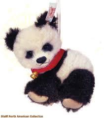 steiff baby panda ornament ean 669774