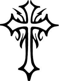 cross designs cross tattoos and tribal cross tattoos