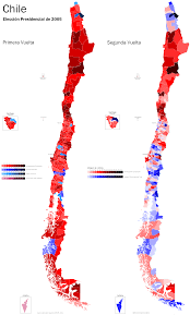 1980 Presidential Election Map by Guide To Chilean Politics And The 2013 Elections World Elections