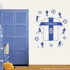 england football shirt wall decal art stickers lounge living blue england football shirt personalised with kieran 8 england football shirt wall decal