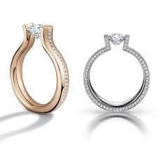 niessing ring weddinginspo of the day this stylish niessing tension ring