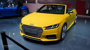 audi all models all audi tt and tts to us debut at los angeles auto