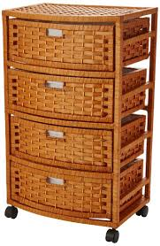Chest Of Drawers With Wicker Drawers 13 Best Wicker Storage Chest Drawers Images On Pinterest Storage