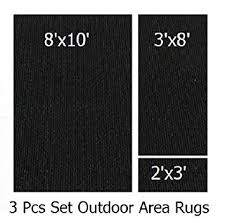 8 X 10 Outdoor Rug 3 Indoor Outdoor Rug Set 8x10 Area Rug 3x8