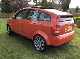 classified 2001 jaipur red audi a2 tdi se u2013 huge spec u0026 extras