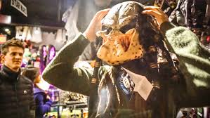 predator costume spirit halloween scariest halloween mask youtube