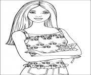 barbie thumbelina 21 coloring pages printable
