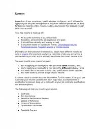How To Type Up Resume How To Write A Proper Resume Resume Templates