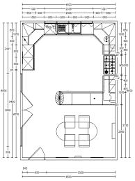 kitchen design contemporary simple kitchen floor plans island
