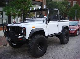white land rover defender 2246 jpg 1024 768 white d90 soft top lifted coche u0027s