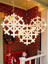 how to make wooden snowflakes with lights decorating lights and