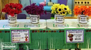 flower shop flower shop springtime dramatic play center