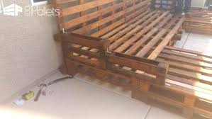 pallet daybed recycled pallet daybed pallet daybed with storage