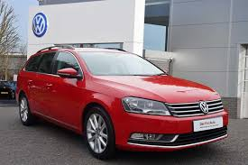 red volkswagen passat used 2014 volkswagen passat estate 1 6 tdi executive bluemotion