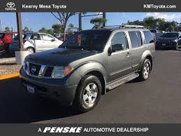 2006 used nissan pathfinder s 2wd at kearny mesa toyota serving