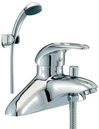 jet bath shower mixer tap with shower kit chrome jet003