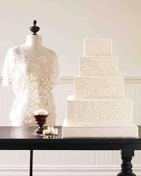 lace wedding cakes fabric inspired wedding cakes martha stewart weddings