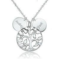 Custom Necklace Pendants Personalized Name Engraved Om Necklace Sterling Silver Pendant