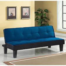 color block futon adjustable sofa multiple colors walmart com