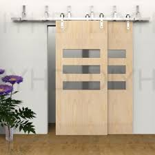 Sliding Barn Door Construction Plans Ideas Sliding Barn Doors With Modis Face Features U2014 Hmgnashville Com