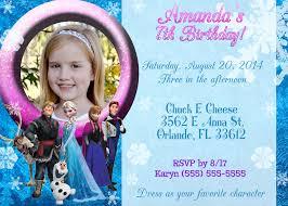 Personalised Birthday Invitation Cards Frozen Birthday Cards U2013 Gangcraft Net
