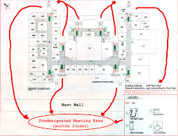 floor planning floor plans emergency exits and safety systems department