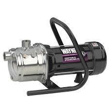 Home Depot Water Pump Wayne 1 Hp Stainless Steel Portable Sprinkler Pump Pls100 The