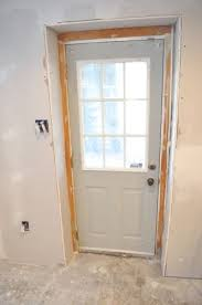 Flush Exterior Door Should An Exterior Door Frame Always Be Flush With The Interior