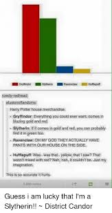 Harry Potter House Meme - ravenclaw humepuff rowdy redhead afusionoffandoms harry potter