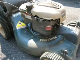 how to change the oil in a push lawnmower example craftsman