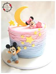 disney babies cake this would be cute to reveal the gender of