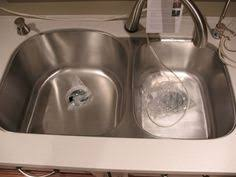 Double Sinks Kitchen by Double Bowl Sink Dish Drain Two Bowl Sink With Drainboard 2d