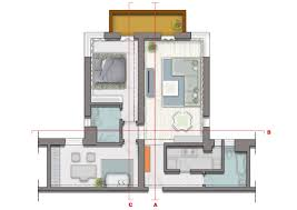 apartment plans cosmopolitan shanghai apartment delivering a fresh state of mind