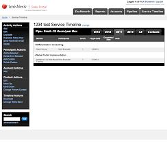 lexisnexis web services salesportal