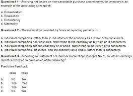 question 1 accruing net losses on non cancelable chegg com