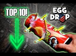 Challenge Drop On Top 10 1st Place Egg Drop Designs Science Experiment Challenge