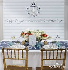 Custom Backdrops Nautical Wedding Inspiration Custom Backdrop Www Kateaspen Com
