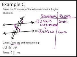 Alternate Interior by Alternate Interior Angles Exles Geometry Concepts