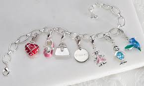 personalized picture charms up to 76 on personalized charm bracelet groupon goods