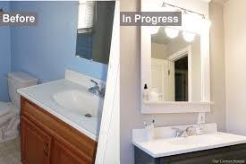 bathroom makeovers ideas budget bathroom makeover bathrooms