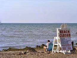 Pennsylvania beaches images Beach closures pennsylvania sea grant JPG