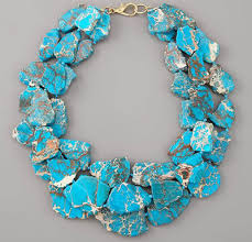 real turquoise necklace images Faux turquoise tutorial jpg