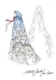 saks fifth avenue will deck their windows with snow white and the