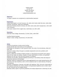resume template good objective a for what is great 15 excellent